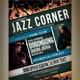 Jazz Corner Flyers/Poster