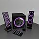 Beautiful set of audio system