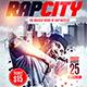 Rap City Flyer Template