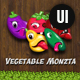 Vegetable Monzta - UI Kit