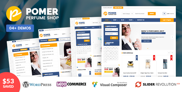 VG Pomer – Perfume Shop WooCommerce WordPress Theme (WooCommerce)