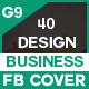 Facebook Cover - 40 Design - 10 Set