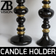 Z Gallerie Emerson Pillar Candle Holder