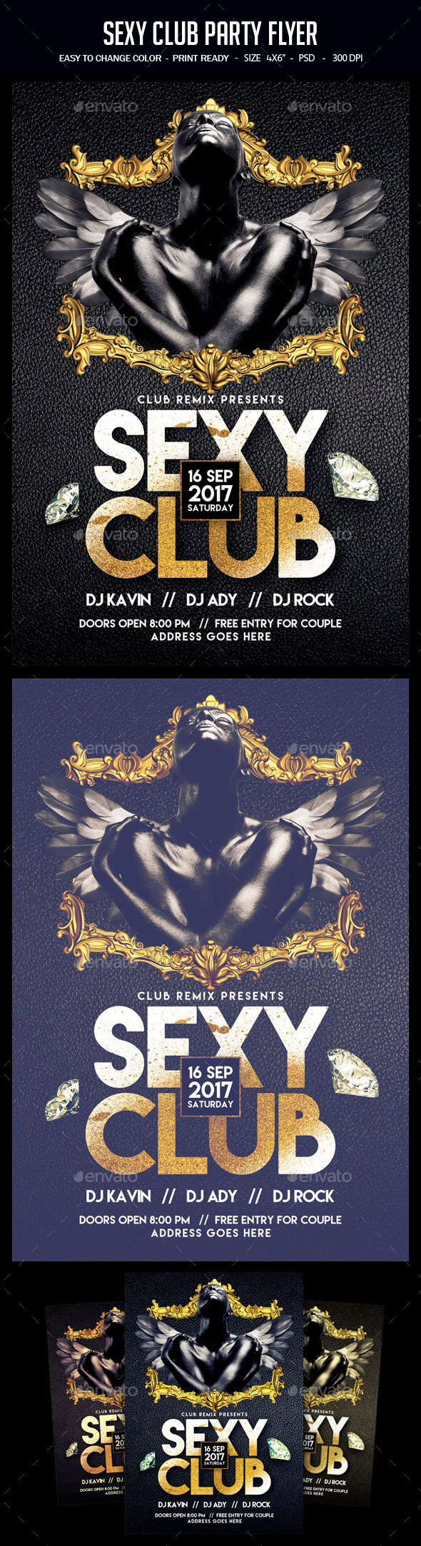 Sexy Club Party Flyer