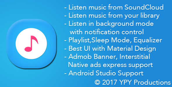 xMusic - Android Online Offline Music Player - CodeCanyon Item for Sale