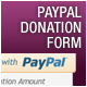 Paypal Donation Sliding Form Button - ActiveDen Item for Sale
