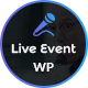 Live Event - Single Conference, Event, Meetup WordPress Theme