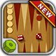 Classic Backgammon - HTML5 Board Game