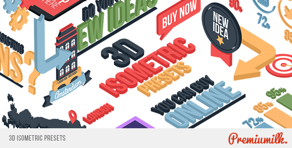 VideoHive 3D Isometric Presets 20051305