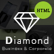 Diamond - Business & Corporate - HTML Template