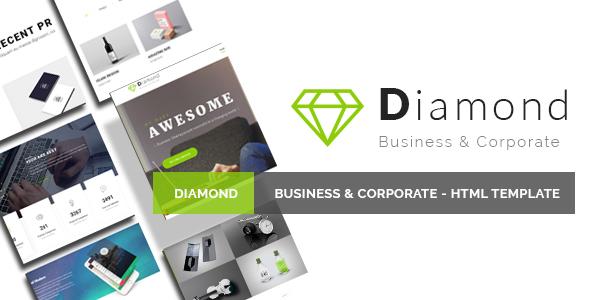 Diamond - Business & Corporate - HTML Template