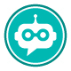 Virtual Online Talking Bot Logo