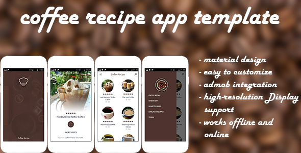 Coffee Recipe - Android Recipe App