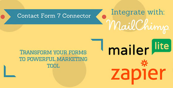 Contact Form 7 Connector (MailChimp, MailerLite and Zapier)