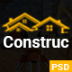 Construction PSD Template