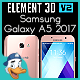 Samsung Galaxy A5 2017 for Element 3D