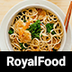 Royal Food - Restaurant and Recipe WordPress Theme