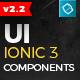 Ionic 3 UI Theme/Template App - Material Design - Yellow Dark