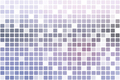 Pink grey occasional opacity mosaic over white