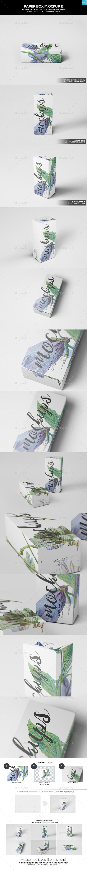 Paper Box Mockup 11