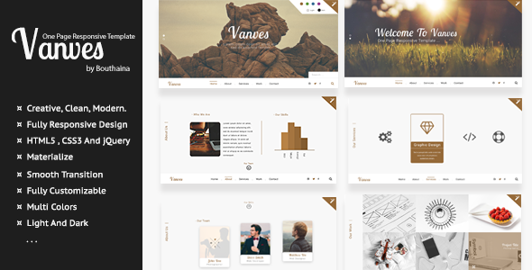 Vanves - Creative Responsive Template