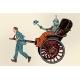 People Rickshaw Ride Robot