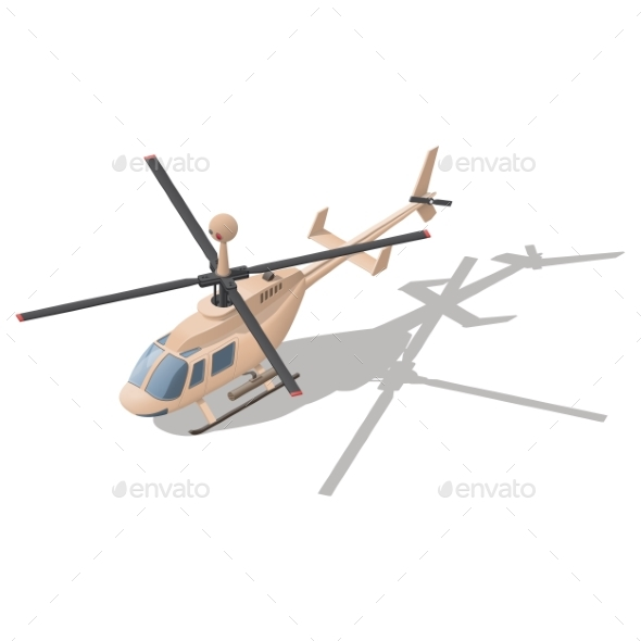 Fire Support or Reconnaissance Helicopter