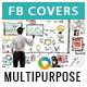 Multipurpose Facebook Covers - 10 Designs