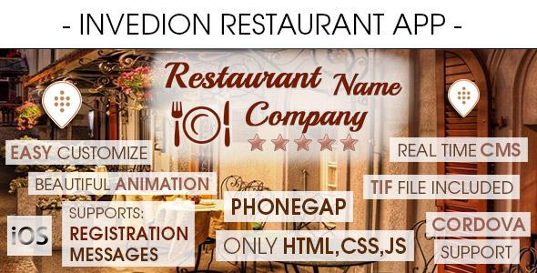 Restaurant App With CMS - iOS - CodeCanyon Item for Sale