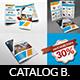 Stationery Products Catalog Brochure Bundle