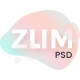 ZUM - Interface Personal Blog PSD Template