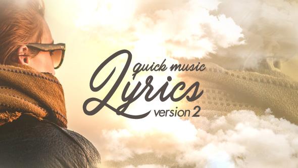 Quick Music Lyrics - V2