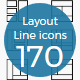 Layouts Line Icons