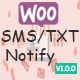 WooCommerce Advance SMS/Text Notification