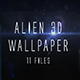 Alien 3d wallpaper