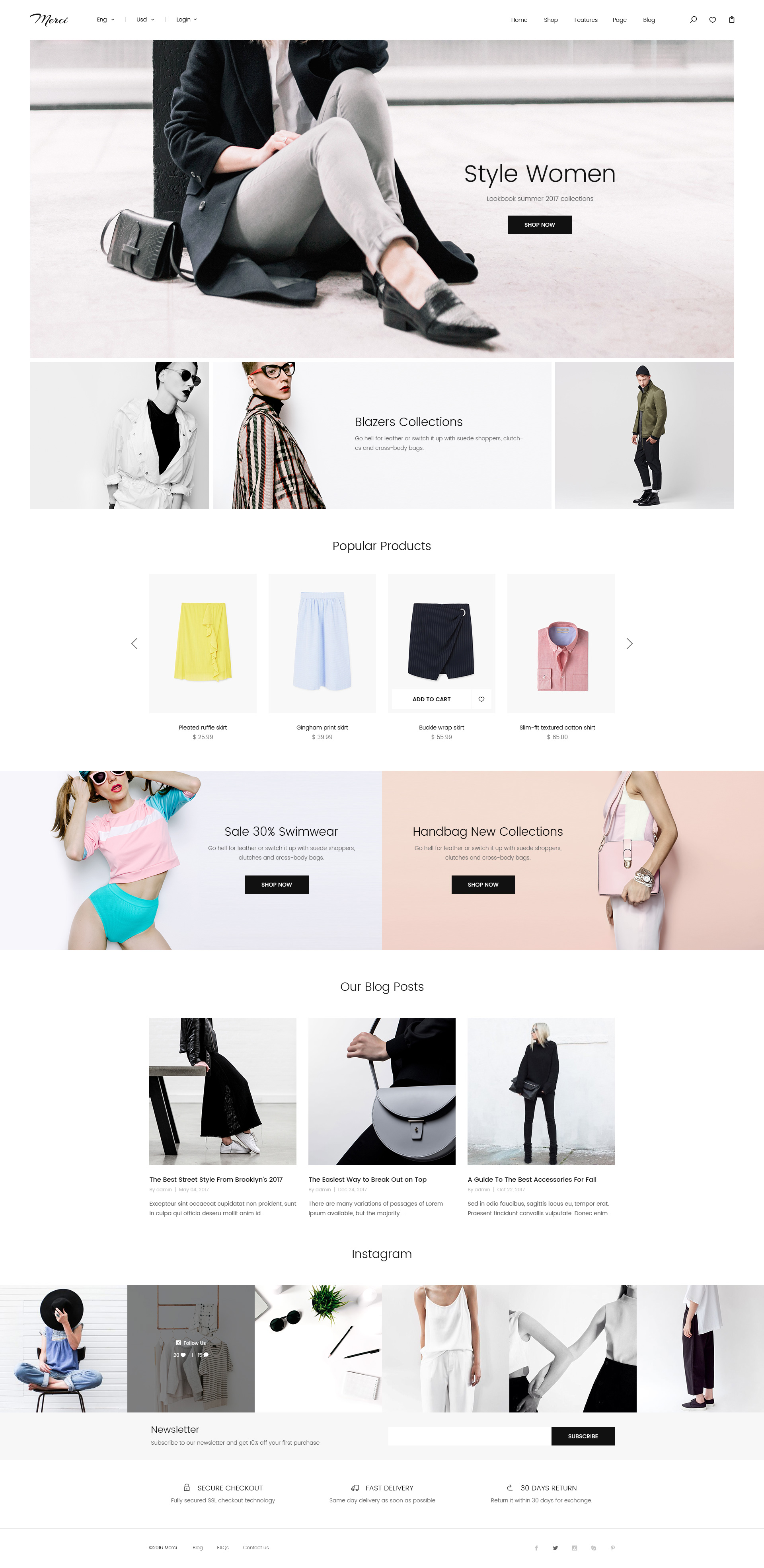 Merci minimalist ecommerce psd template shopping retail preview 01_home 01_00_preview jpg preview 01_home 01_01_home_classic jpg