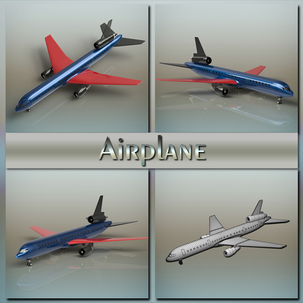 3DOcean Airplane 20063179