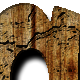 Cracked Wood Text Effect Style