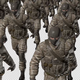 The Soldiers with Masks  March