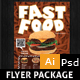 Restaurant Fast Food Flyer