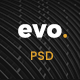 EVO - Creative Architecture & Interior PSD Template