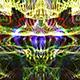Multicolour Particle Background