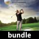 3 Golf Play Wall Calendar 2018 Bundle