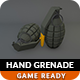 Low Poly Hand Grenade