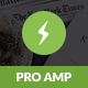 AMP Pro | Mobile Google AMP Template