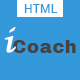 "iCoach - For Coaches<hr/> Speakers</p><hr/> Fitness Trainers & Entrepreneurs HTML5 Template"" height=""80″ width=""80″></a></div><div class="