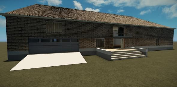 3DOcean Modern brick cottage 20068192