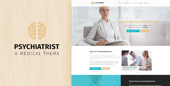 Psychiatrist | Medical WordPress Theme