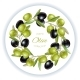 Olive Wreath Banner