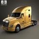 Kenworth T680 Tractor Truck 3-axle 2012
